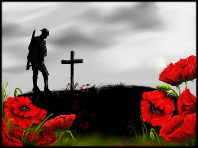 Remembrance Day, for those who have given up their lives for our Freedom